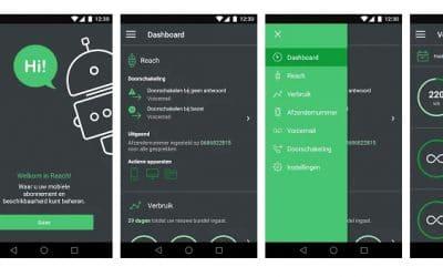 App voor bereikbaarheid